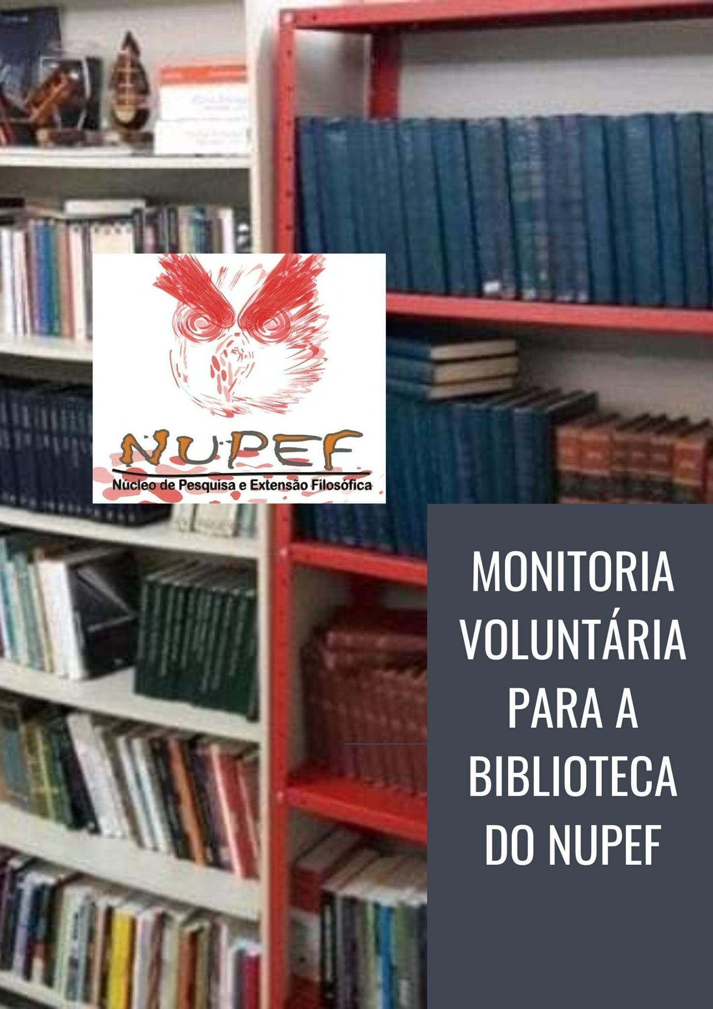 Monitoria Voluntária Biblioteca do NUPEF 2020