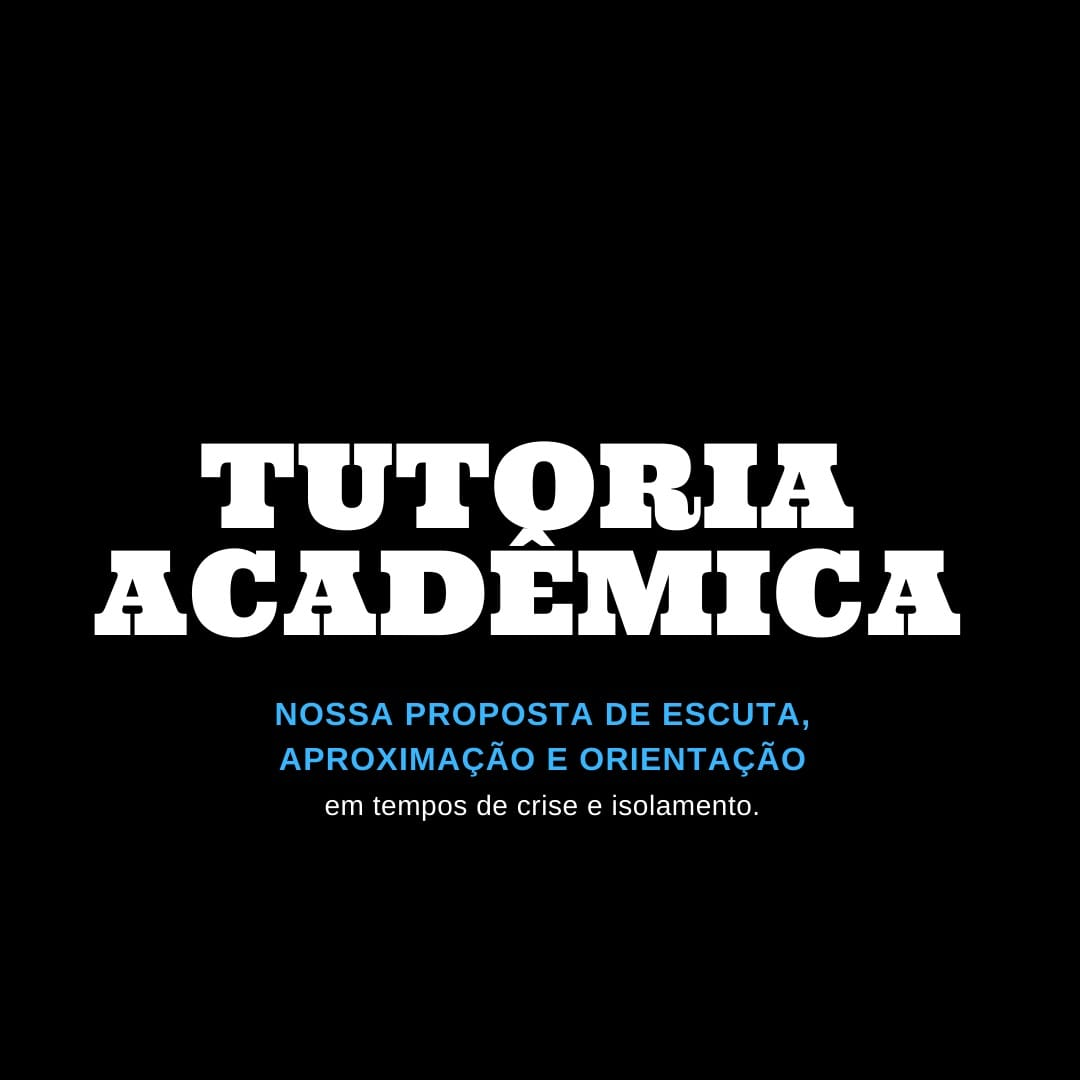 Tutoria Acadêmica 2020.1