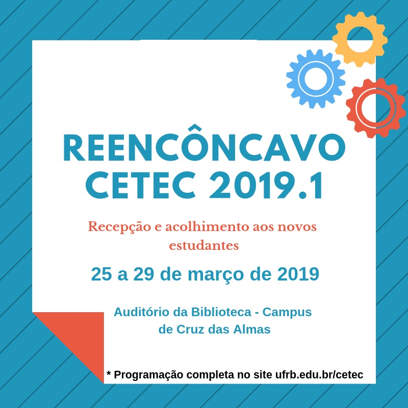 Reencôncavo 2019.1 do CETEC