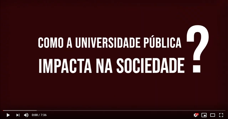 E se a universidade pública não existisse?