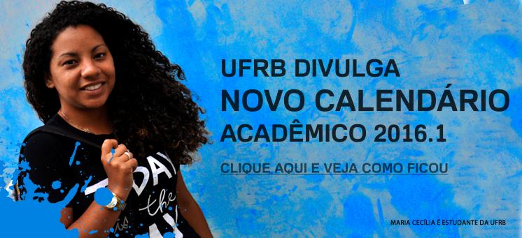 Confira o Calendário Acadêmico 2016.1