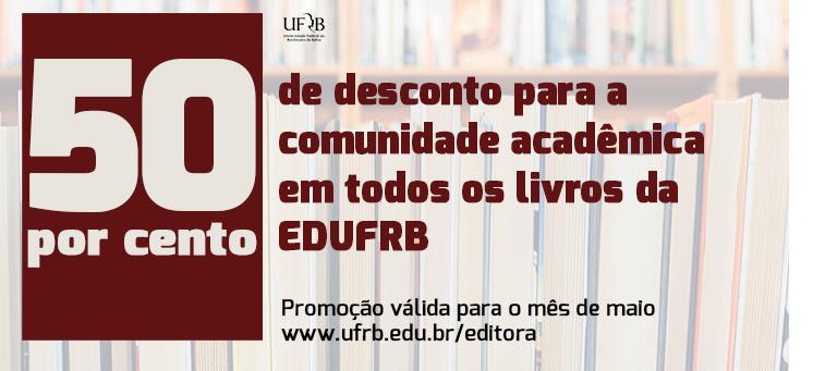 Conheça os títulos da Editora da UFRB
