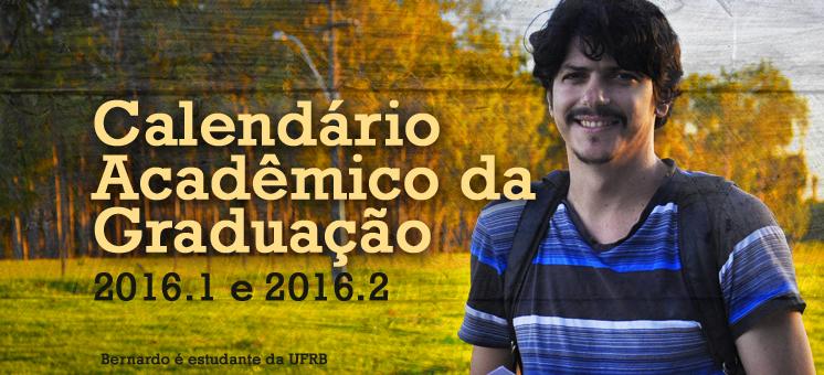 UFRB divulga novo Calendário Acadêmico