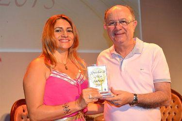 Professora Hilda e prefeito de Feira de Santana