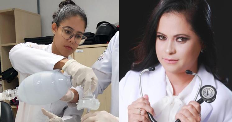 Raissa de Figueiredo e Daiane Sampaio integram força-tarefa Tele Coronavírus 155.